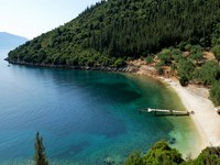 Horgota Beach in Kefalonia